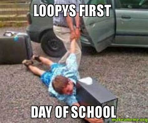 First Day Of School Funny Memes - welcome to memespp com