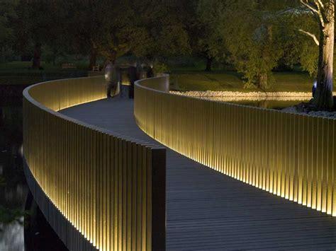 Banister Lights Sackler Crossing Kew Gardens London E Architect