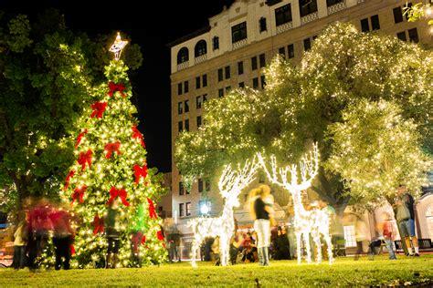 san antonio tree lighting 2017 best lights in san antonio 2017