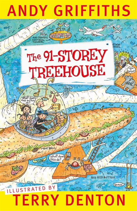 The Tree House Stories the 91 storey treehouse by andy griffiths terry denton