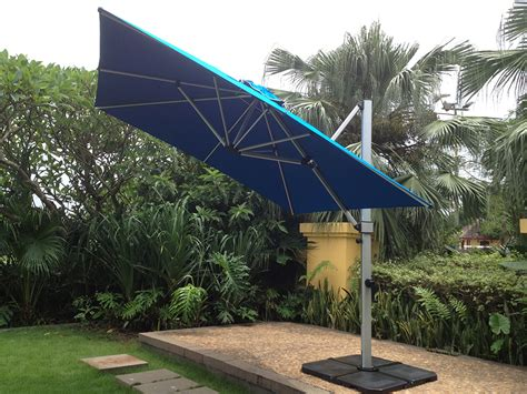 Patio Umbrellas Miami South 10 X 10 Cantilever Umbrella By Miami Umbrellas