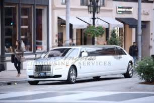 Rolls Royce Ghost Limo La Limo Rental Los Angeles Limousine Fleet