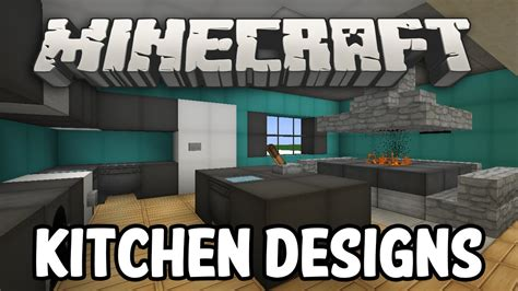 minecraft kitchen designs minecraft interior design kitchen edition youtube