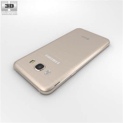 3d J5 2016 samsung galaxy j5 2016 gold 3d model hum3d