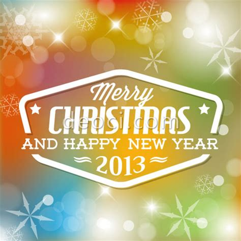 merry and happy new year template colorful merry and happy new year poster