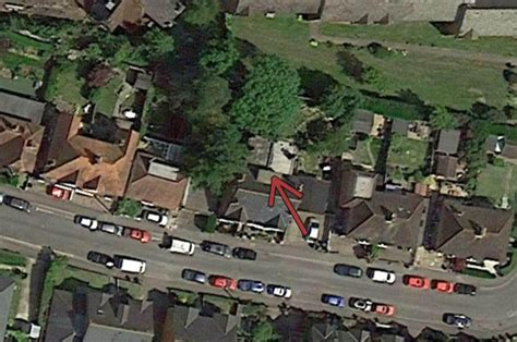 garden design google earth east sussex council prosecutes man with back garden with