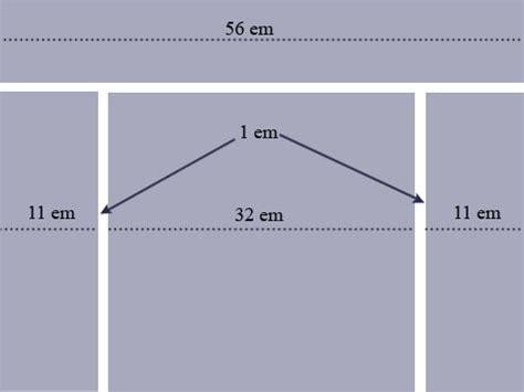 html layout fixed width elastic layout