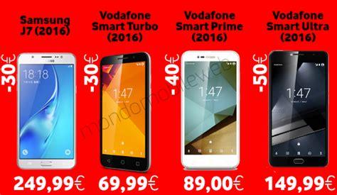 vodafone mobile offerte offerte smartphone vodafone 2017