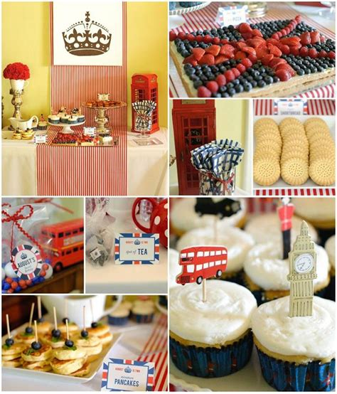 london party themes ideas kara s party ideas london calling british birthday bash
