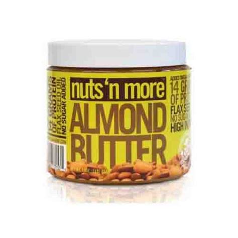 protein n more nuts n more almond butter high protein source