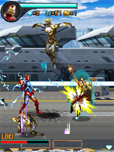 thor movie java game avengers the mobile game java game for mobile avengers