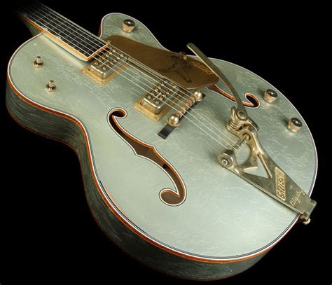 what color are the coolest gretsch custom shop masterbuilt stephen 59 falcon