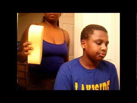 what of do boys use to sponge their hair mj sponge twist wmv youtube