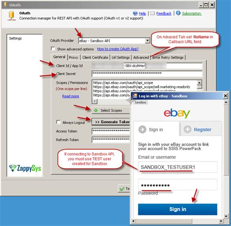 ebay api how to call ebay rest api in sql server with ssis
