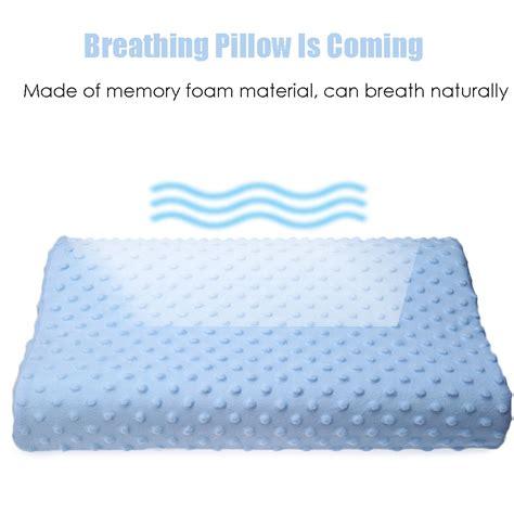 Bantal Memory Foam bantal orthopedic memory foam rebound blue
