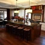 2 tier kitchen island stylish kitchen with two tier kitchen island homesfeed