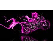 Kawasaki Side Super Fire Abstract Bike 2014  El Tony