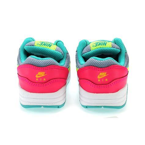 Set Pink Nike 1 nike air max 1 td 631888 003 hyper pink highlights