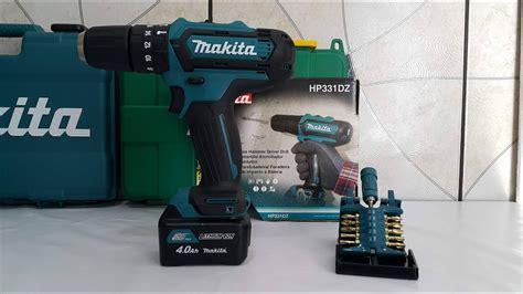 Makita Hp331 parafusadeira furadeira a bateria 12v makita hp331