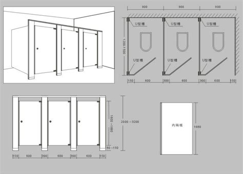 Bathroom Partitions Dimensions by Toilet Cubicle With Sink Size Images Information About