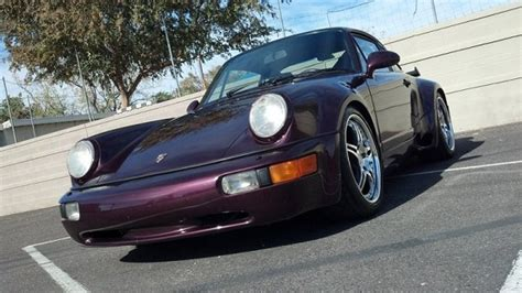 purple porsche 911 turbo purple haze 1991 porsche 911 turbo german cars for sale