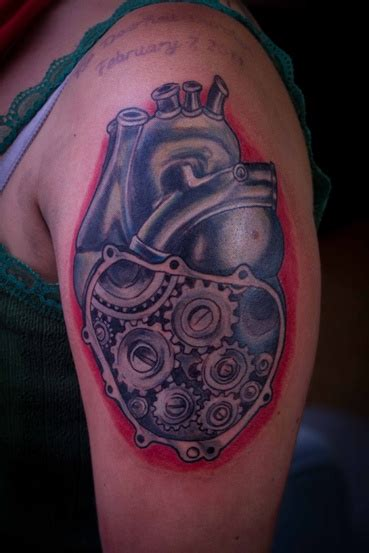 sub tattoo mechanical by milo by milo mr lucky marcer