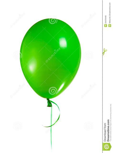 Green balloon royalty free stock photo image 24476445
