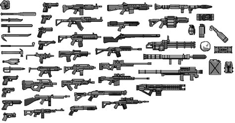 gta 5 all weapons coloring pages print gta gta guns colouring pages