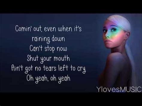 Testo No No Cry Testo Cry Rihanna Testi Canzone Testi Musicali