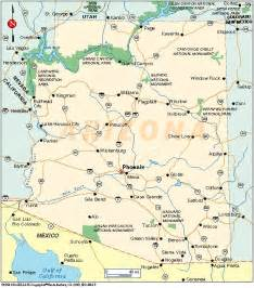 tourist map of arizona state map of arizona happy birthday arizona state