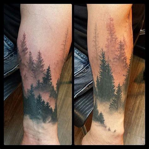 pinterest tattoo forest forest and mountain tattoos google zoeken mooi