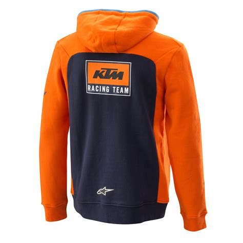 Sweater Ktm Ktm Replica Team Zip Hoodie Dirtnroad Lifestyle
