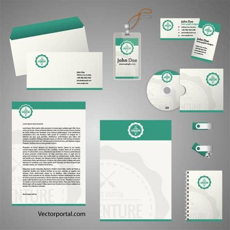stationery template for adobe illustrator stationery