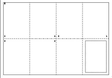 printable blank book template free mini books to print