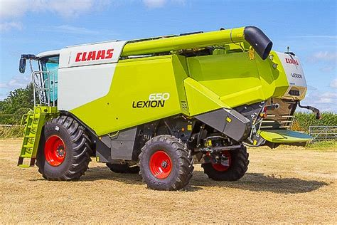 Steunk Combines Modern Tech With Elements by Claas Lexion 650 Combine Harvester Cabin Interactive Panorama