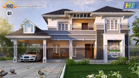 new home house plans new kerala house plans october 2015
