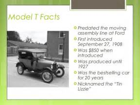 Henry Ford Interesting Facts Henry Ford Ppt