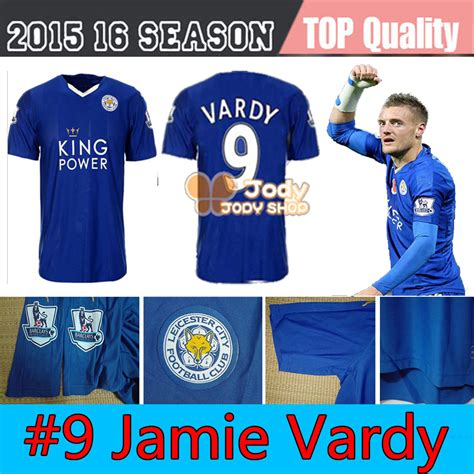 Jersey Multi Sport Leicester Home new leicester city vardy home blue soccer jersey 2016 leicester vardy jersey football