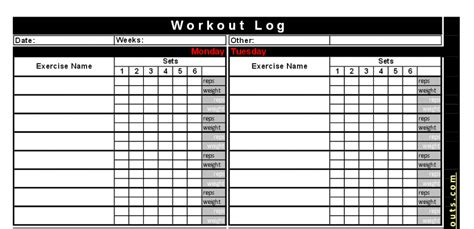 crossfit workout log template free crossfit workout log most popular workout programs