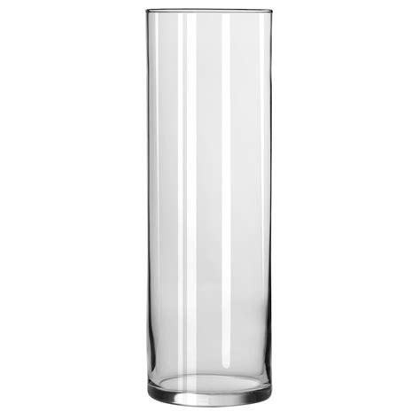 glass cylinder floor l libbey 174 cylinder vase