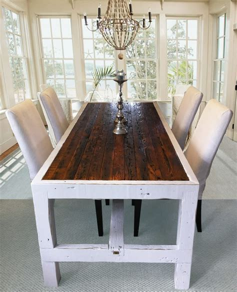narrow rustic dining table narrow dining tables homesfeed
