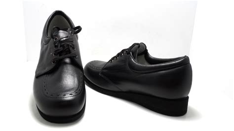 clinic s villager comfort shoes black size 7 narrow nwob ebay