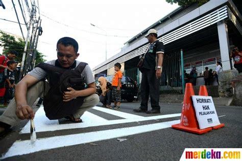 Luthfi Khaki foto kanye keselamatan pejalan kaki aktivis bikin