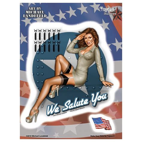 Oldschool Sticker Pin Up by Sticker Pin Up Oldschool Us Army Ad993
