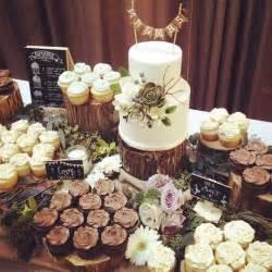Gold Cake Pedestal 25 Amazing Rustic Wedding Cupcakes Amp Stands Deer Pearl