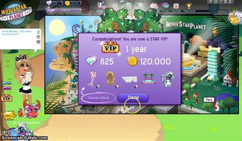 msp vips one year 2016 getting one year star vip b day youtube