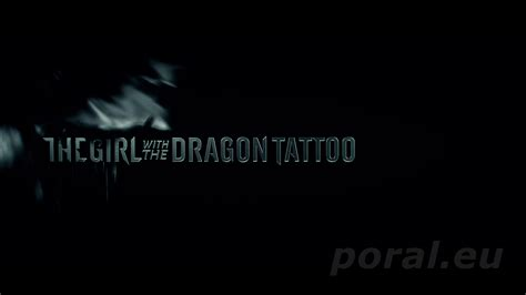 girl with the dragon tattoo 2011 dziewczyna z tatuażem the with the