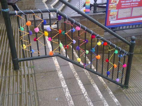 knit bombing uncategorized reading the arcades reading the promenades