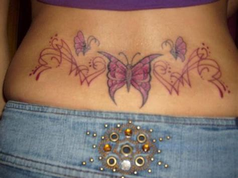 Lower Back Butterfly Tattoo Designs Tattoo Designs For Women Tattoos On Lower Back