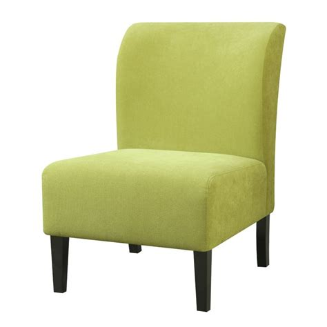 Green Accent Chair Furniture Of America Jendi Flannelette Accent Chair In Green Idf Ac6432gr